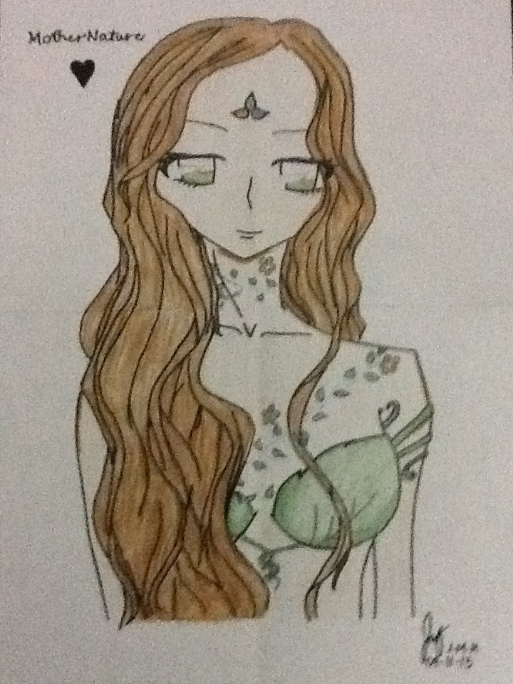 720x960 a drawing of mother nature by mslunasilvermoon on deviantart