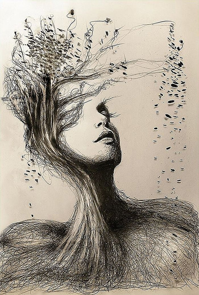 700x1037 i personify mother nature in my pencil drawings pencil portrait