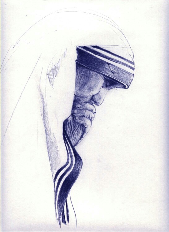 546x750 Mother Teresa Of Calcuta Tattoos Holy Holy