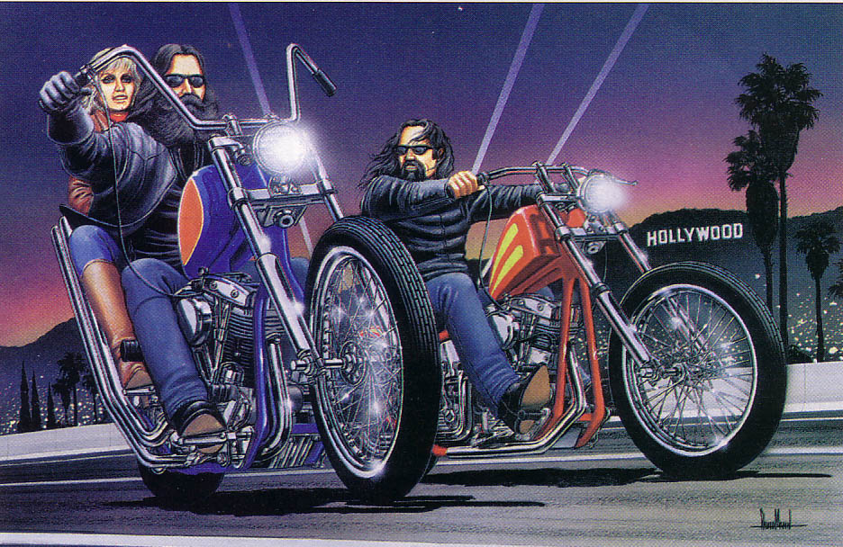 936x608 Chopper Art Motorcycle Drawings Paintings, Chopper Art Motorcycle