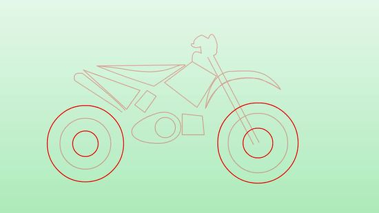 Motorcycle Drawing Simple At Getdrawings Com Free For Personal Use