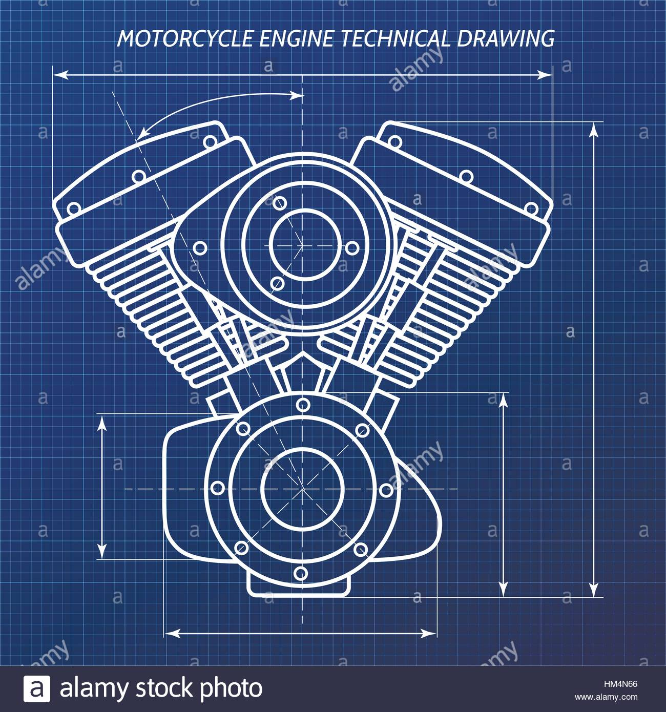 Motorcycle Engine Drawing At Free For Personal Use Basic Diagram 1300x1390 Technical Drawings Of Motor Engineering Concept