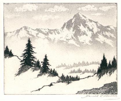 418x350 Harold Lukens Doolittle, [Sierra Mountains]