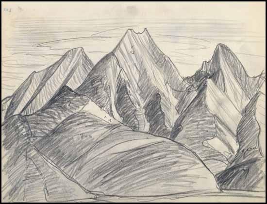 550x420 Lawren Harris Pencil Sketch Worksartists That Inspire Me