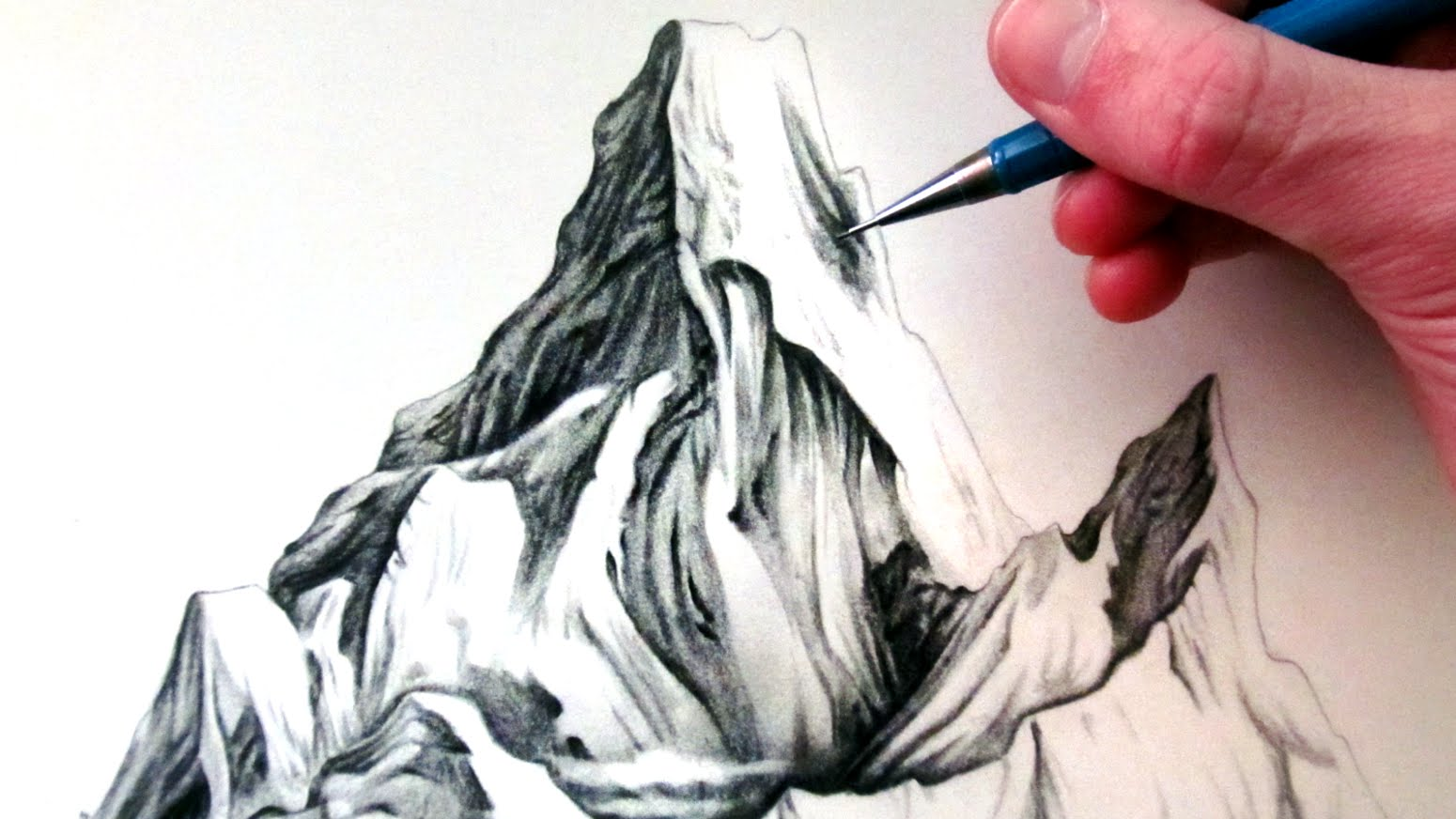 1550x872 How to Draw Mountains