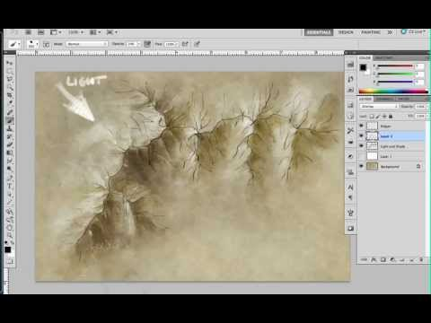 480x360 Drawing Top Down Mountains