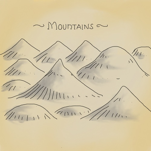 500x500 Mountains For A Fantasy Map. By Billiambabble