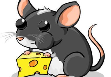 380x265 Cute Mouse Drawing Clipart Panda
