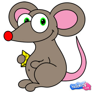 300x300 How To Draw Little Mouse