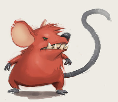 400x348 Learn How To Draw A Mouse Funky Cute Animal Cartoon Easy Step By