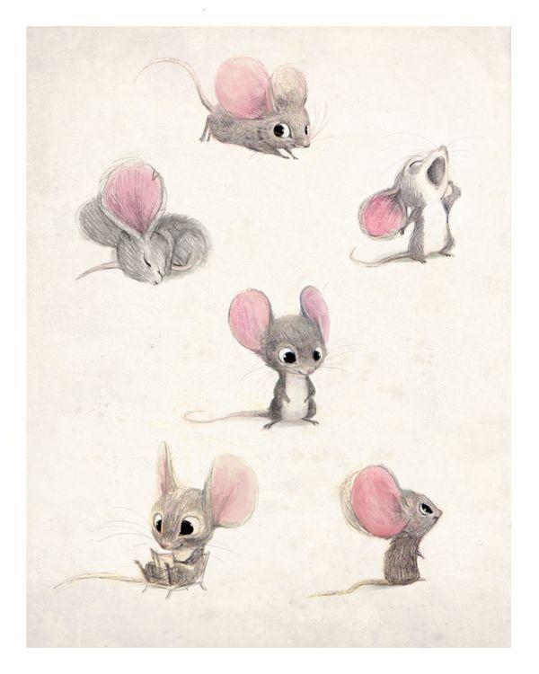 600x750 Mice Sketches, Artist Unknown Draw ~ Penpencilink Art