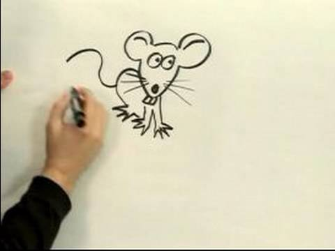 480x360 Easy Cartoon Drawing How To Draw A Cartoon Mouse