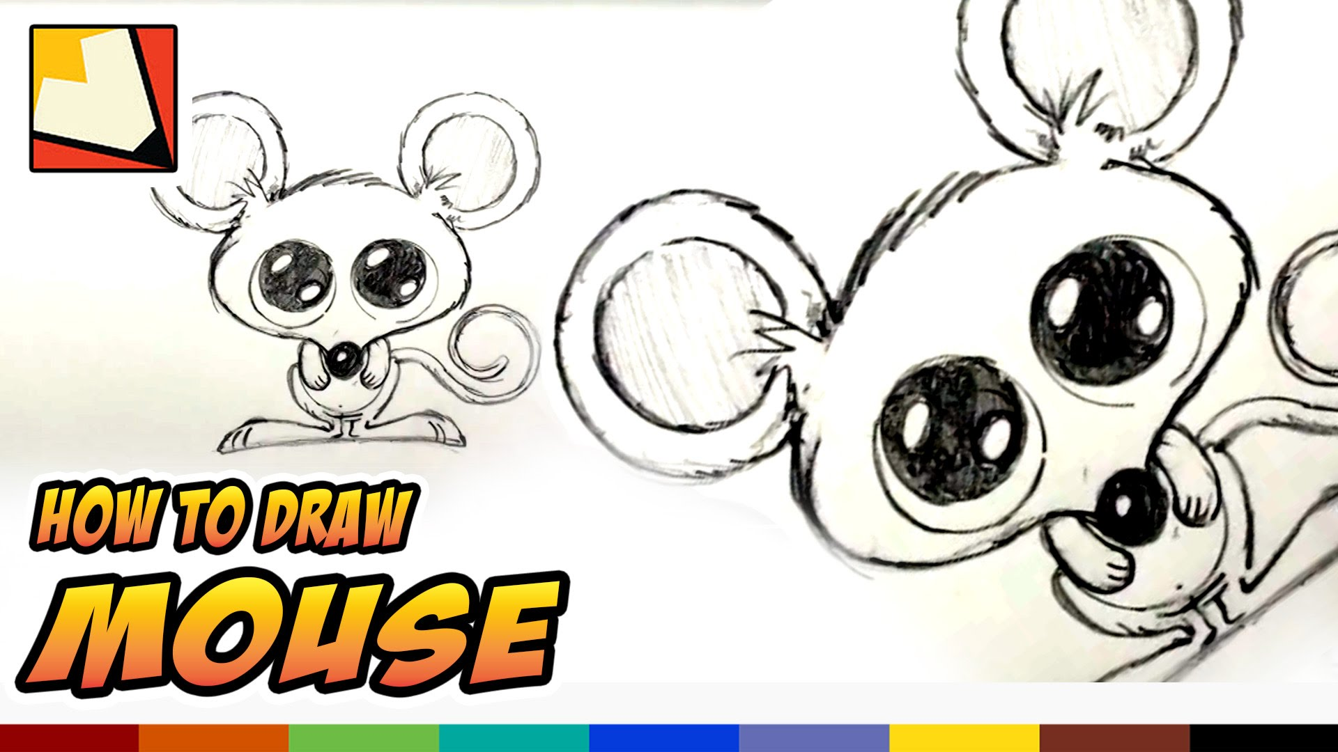 1920x1080 How To Draw A Mouse