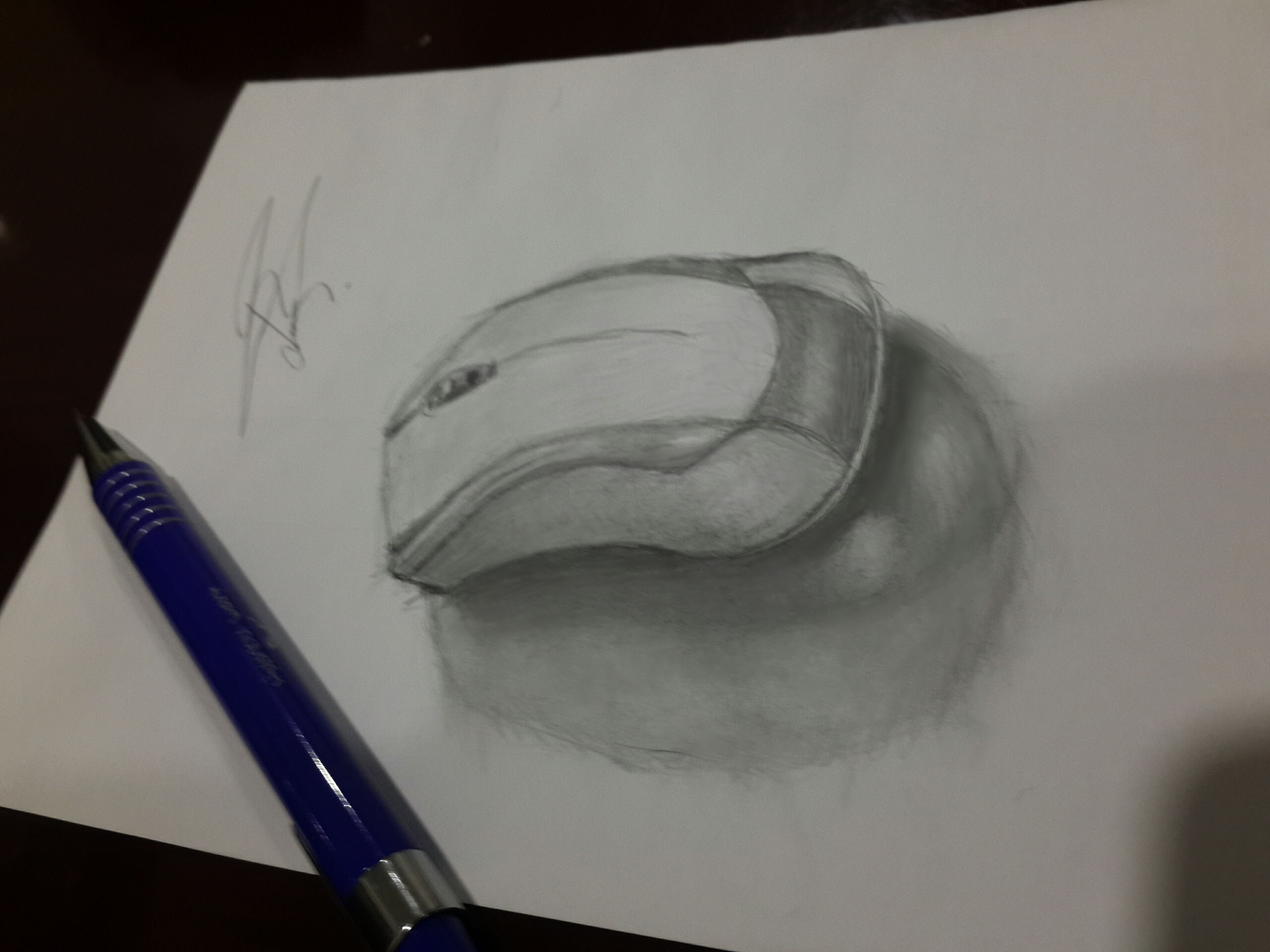 2560x1920 Mechanical Pencil Drawing Computer Mouse