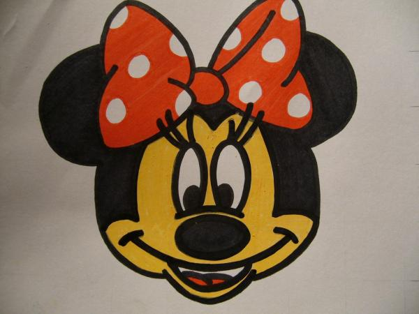 600x450 How To Draw Jerry Mouse Step 9. Minnie Face Mickey Minnie Clipart