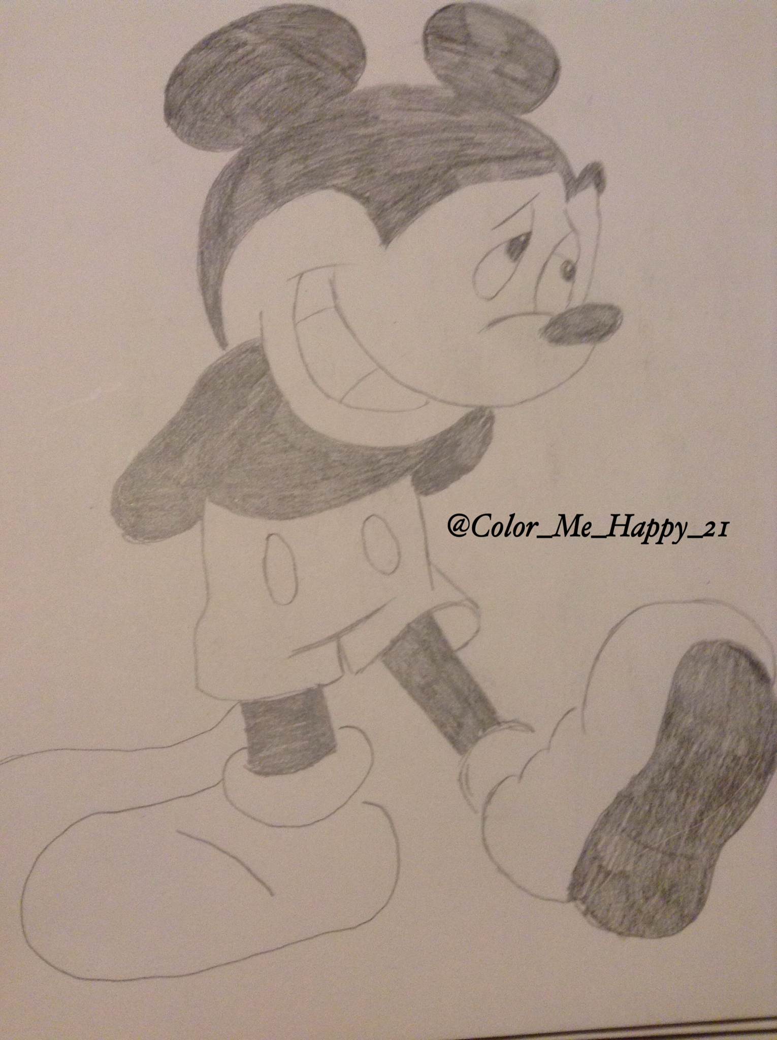 1530x2048 My Mickey Mouse Pencil Sketch My Disney And Old Cartoon Drawings