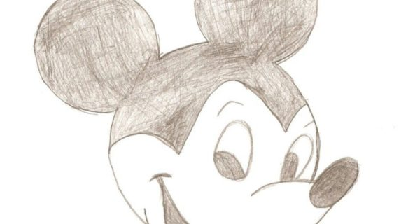 570x320 Pencil Drawings Of Mickey Mouse Mickey Mouse Pencil Drawing