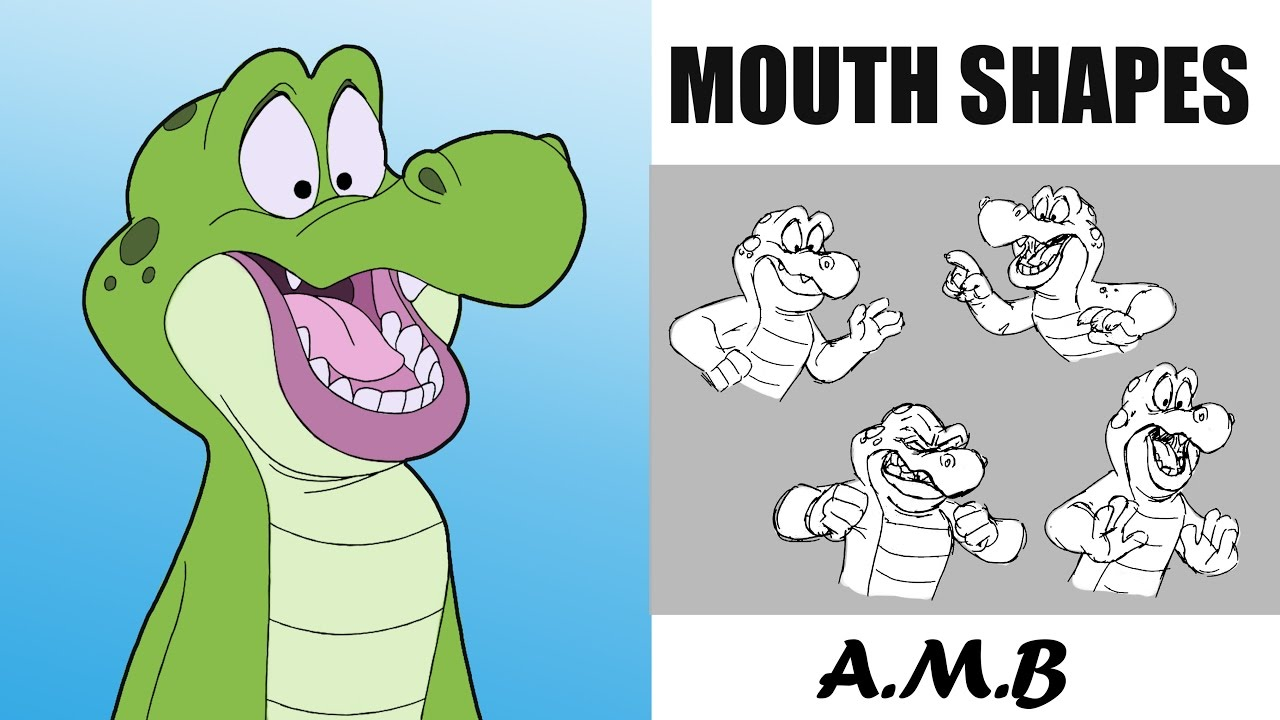 1280x720 2d Animation Cartoon Mouth Drawing