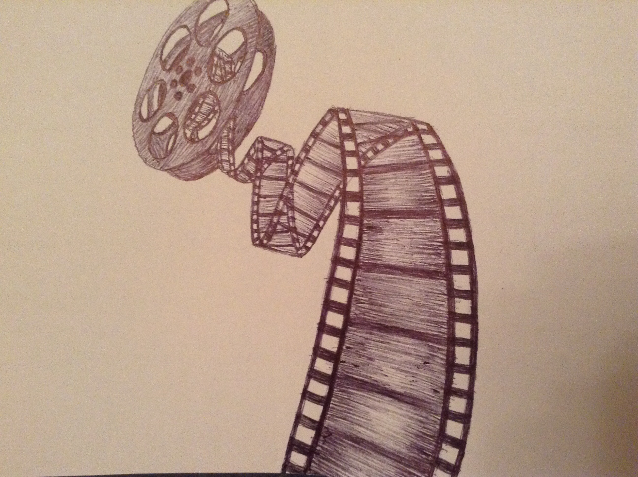 2592x1936 Film Reel Drawingn @myignisrules This Has Your Name Written All