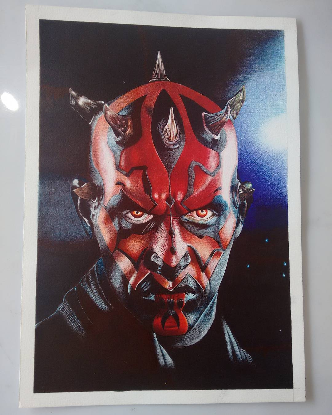 1080x1350 Darth Maul Drawing By Freire Star Wars Darth
