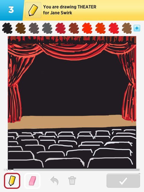 500x667 Theater Drawings