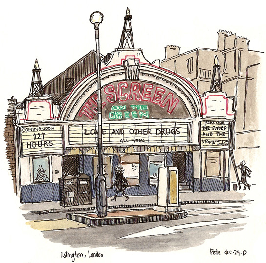 544x537 Sketching Islington Urban Sketchers
