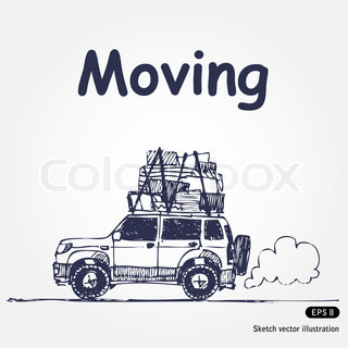 320x320 Truck Van Cargo Transport Delivery Icon Set Stock Vector Colourbox