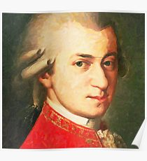 210x230 Mozart Drawing Posters Redbubble