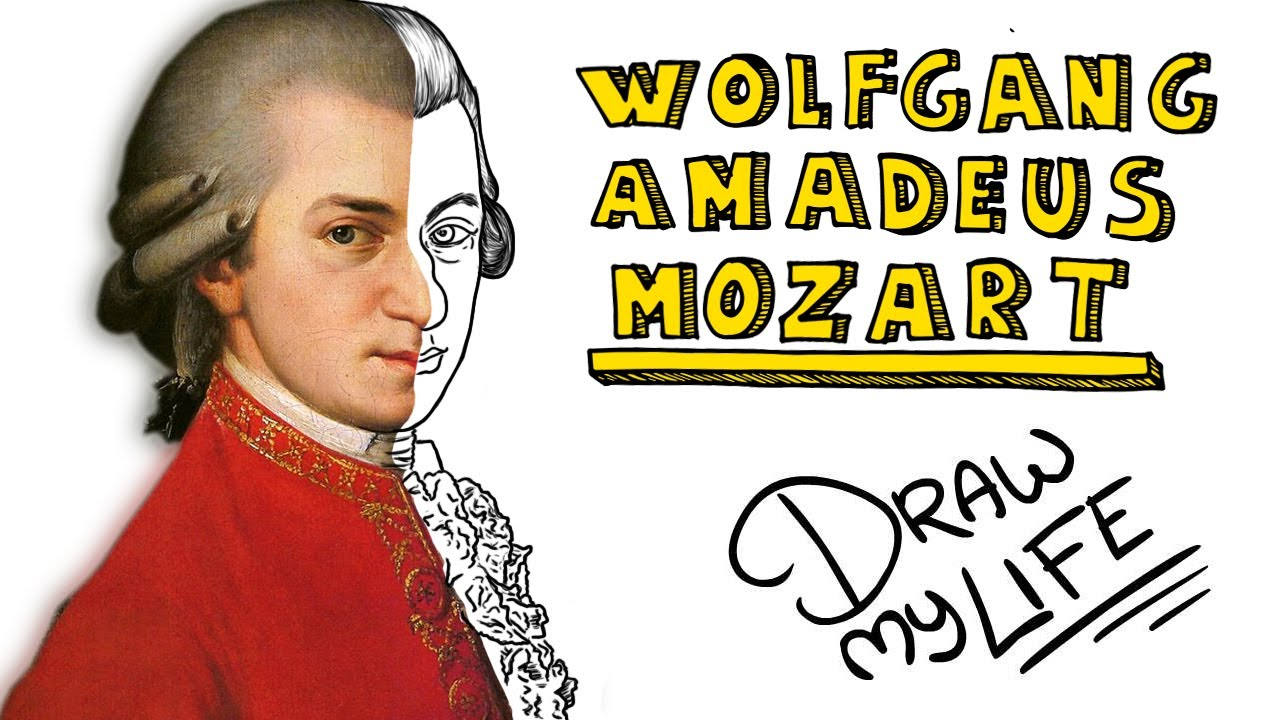 1280x720 Wolfgang Amadeus Mozart Draw My Life