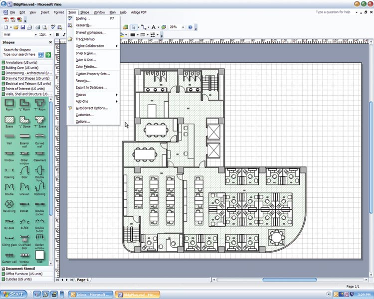 Ms office drawing at getdrawings free for personal use ms 750x600 first look microsoft office visio 2003 cadalyst ccuart Image collections