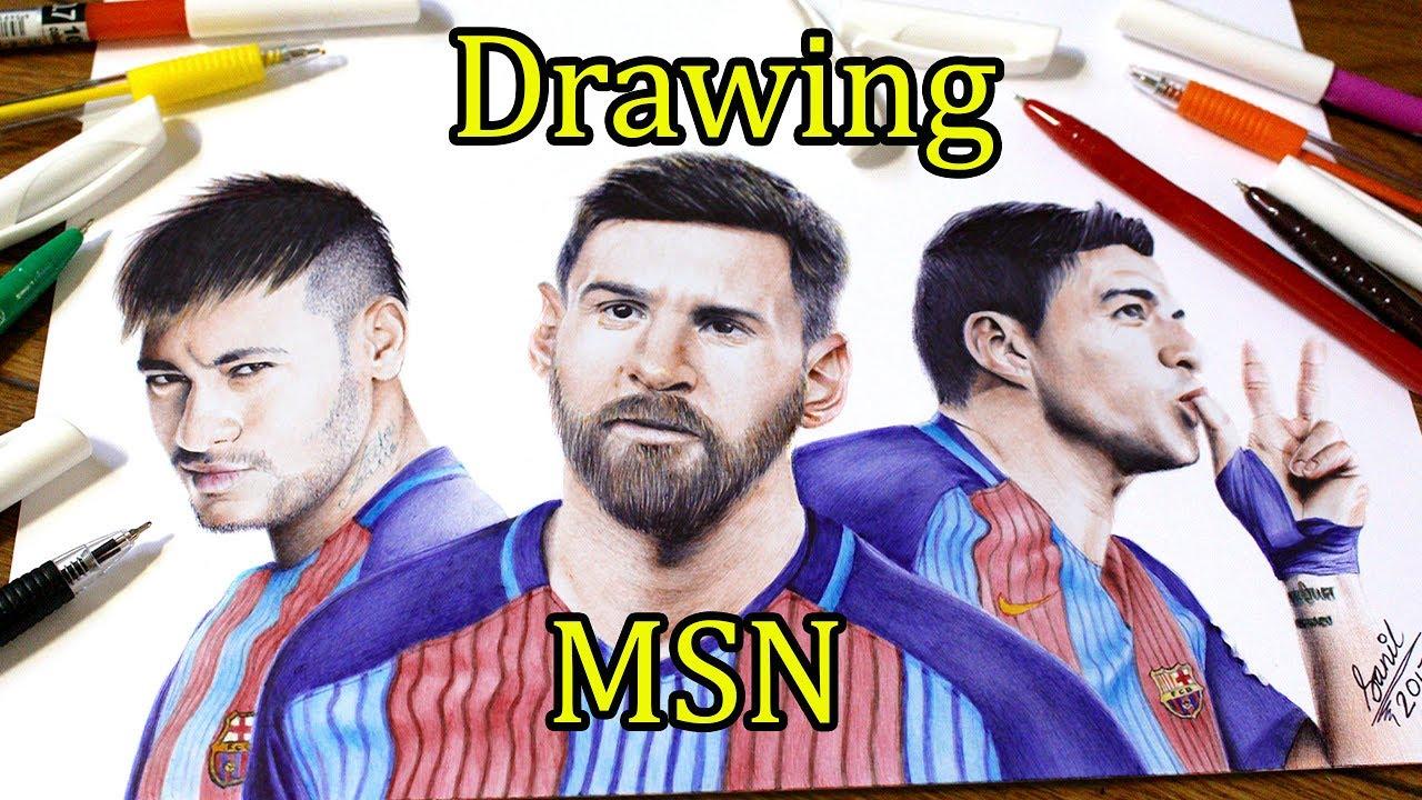 1280x720 Ballpoint Pen Drawing Of Msn Featured On Fox Sport