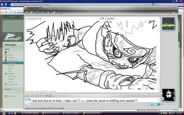 600x375 Naruto Msn Drawing By Jpv777