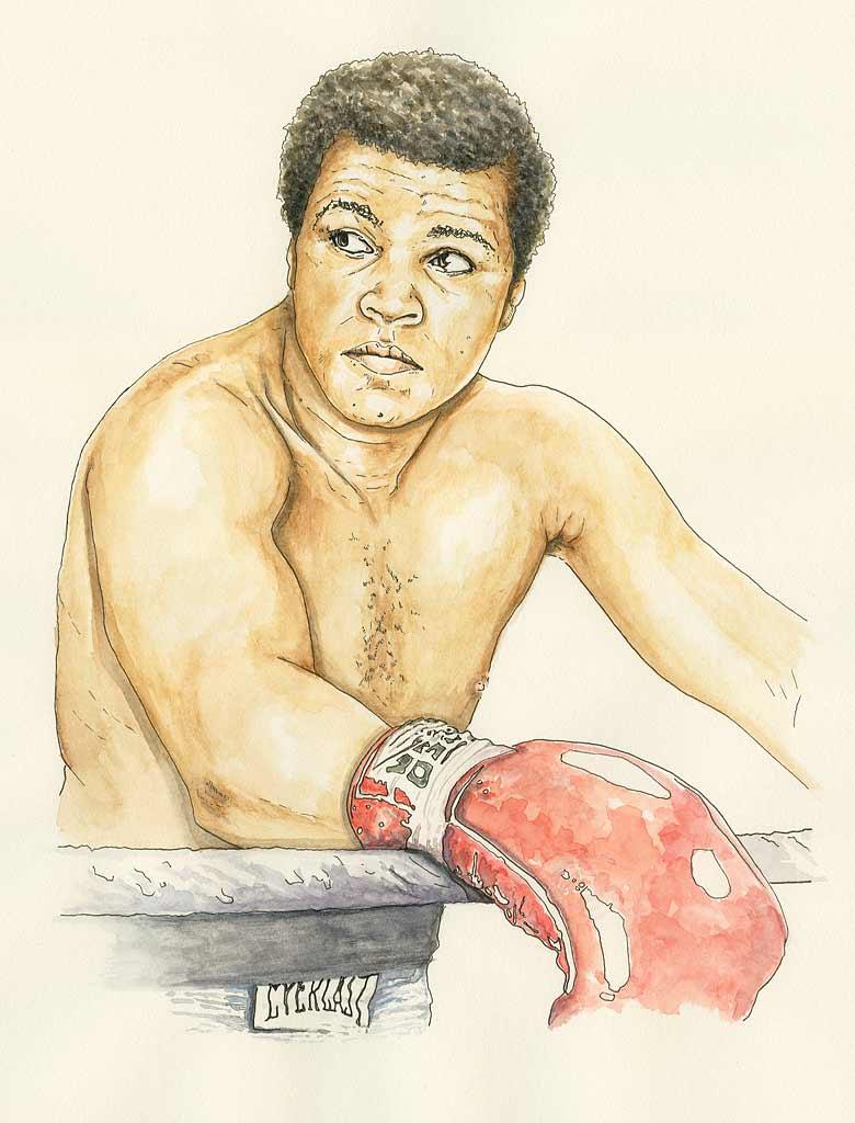 780x1024 Forerunners Series Muhammad Ali By Jason Landsel