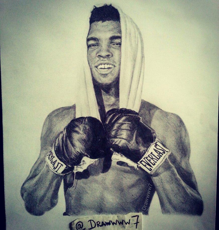 872x916 Muhammad Ali By Drawwww7