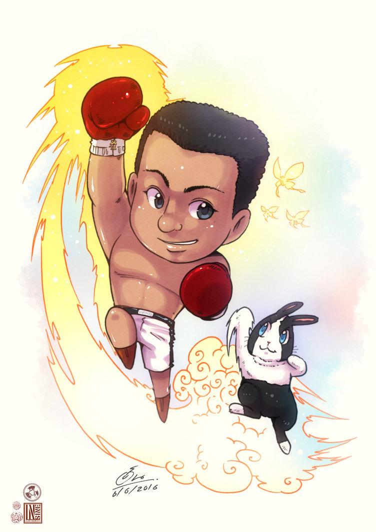 752x1063 Muhammad Ali By In Sine