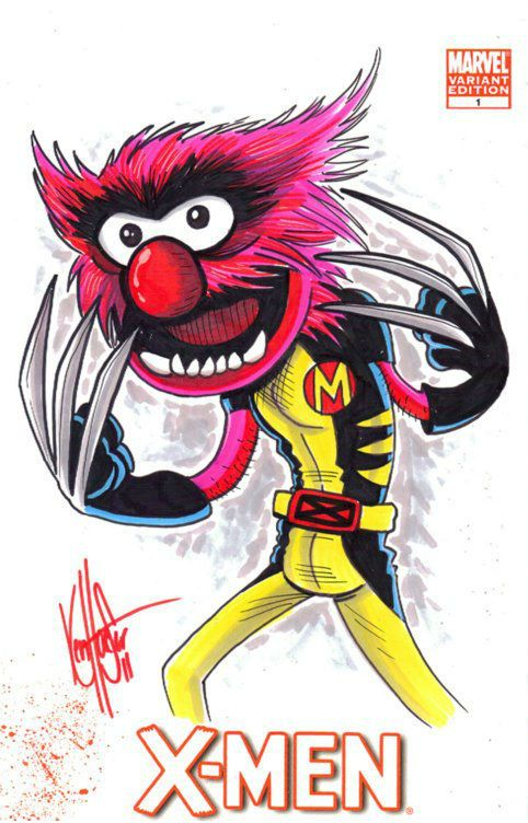 482x752 X Men Muppets Animal, Comic And Marvel