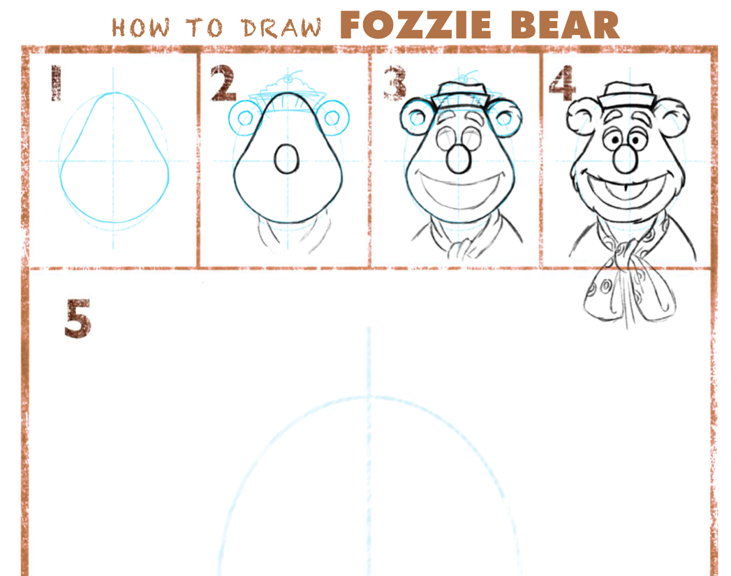 1047x825 Learn How To Draw The Muppets! A Sweet Potato Pie