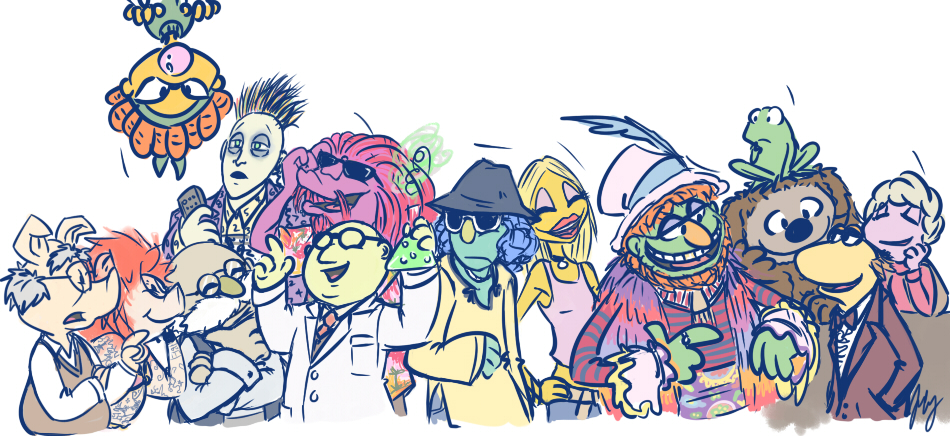 950x436 Muppets 2012 By Aerinsol