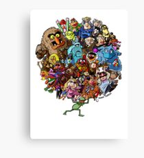 210x230 Muppets Drawing Canvas Prints Redbubble
