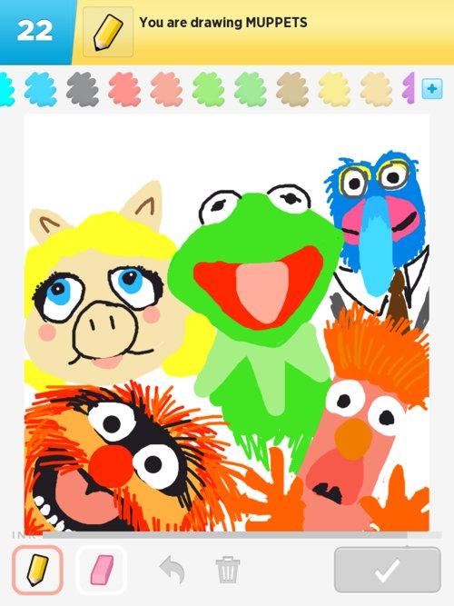 500x667 Muppets Drawings
