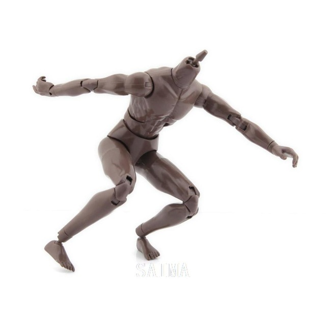 640x640 Male 16 Scalenude Muscle Man Action Figure Body 26cm10.24for