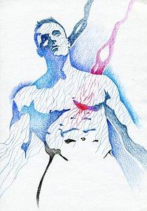 210x300 Muscle Men Drawings