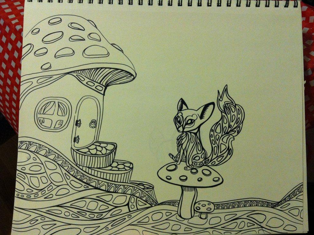 1024x765 Foxy's Little Mushroom House By Glitterkitten33590