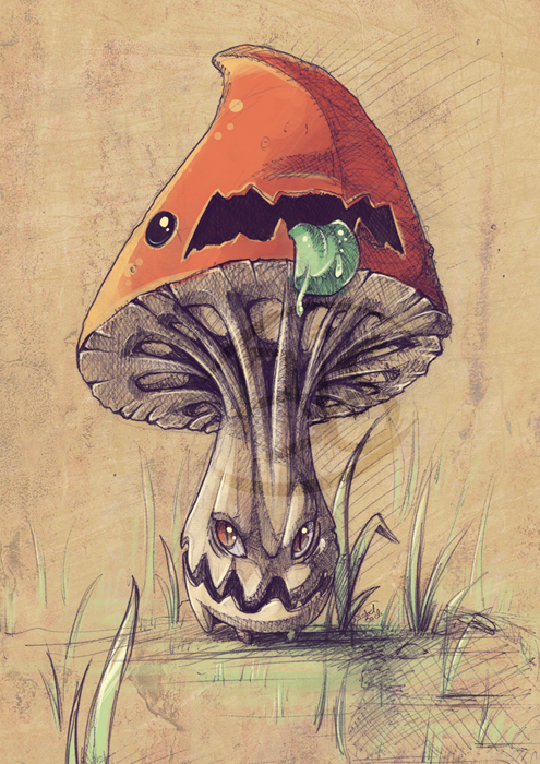 495x700 Beware Of The Evil Mushrooms By Tikopets
