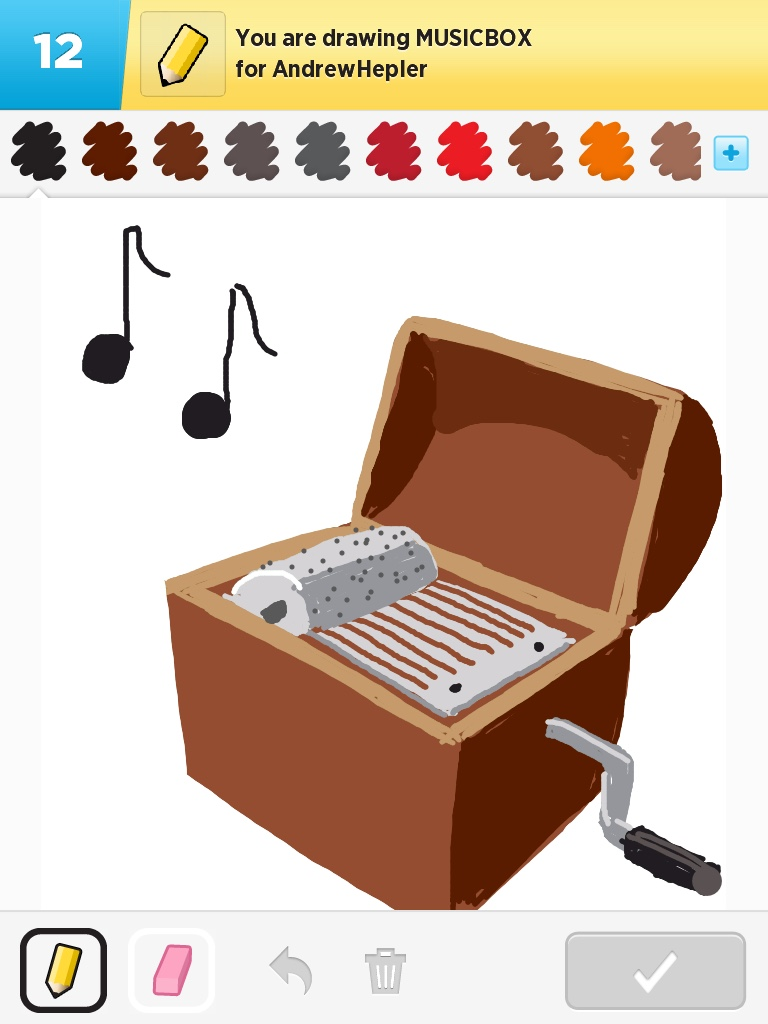 768x1024 Draw Something Music Box By Louied0g