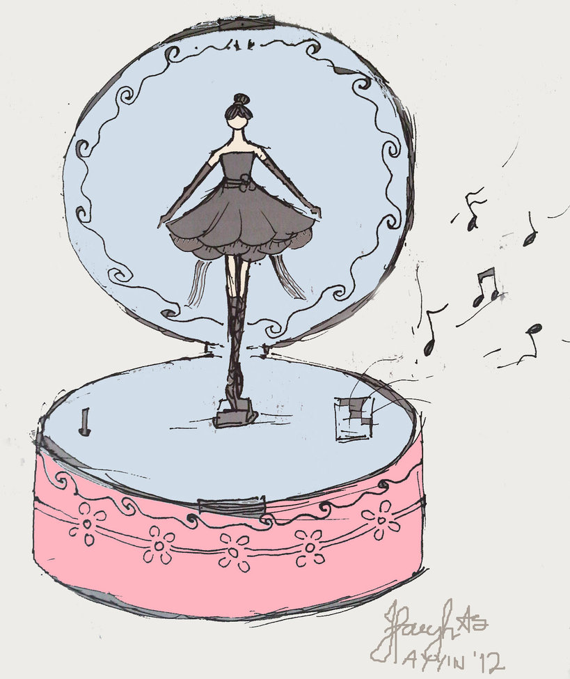 819x975 Drawing Music Box By Ayyinisvip