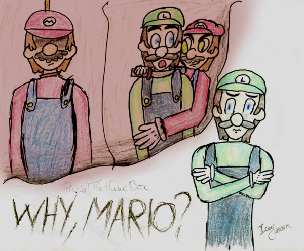 600x496 Mario The Music Box Why Mario By Laogei