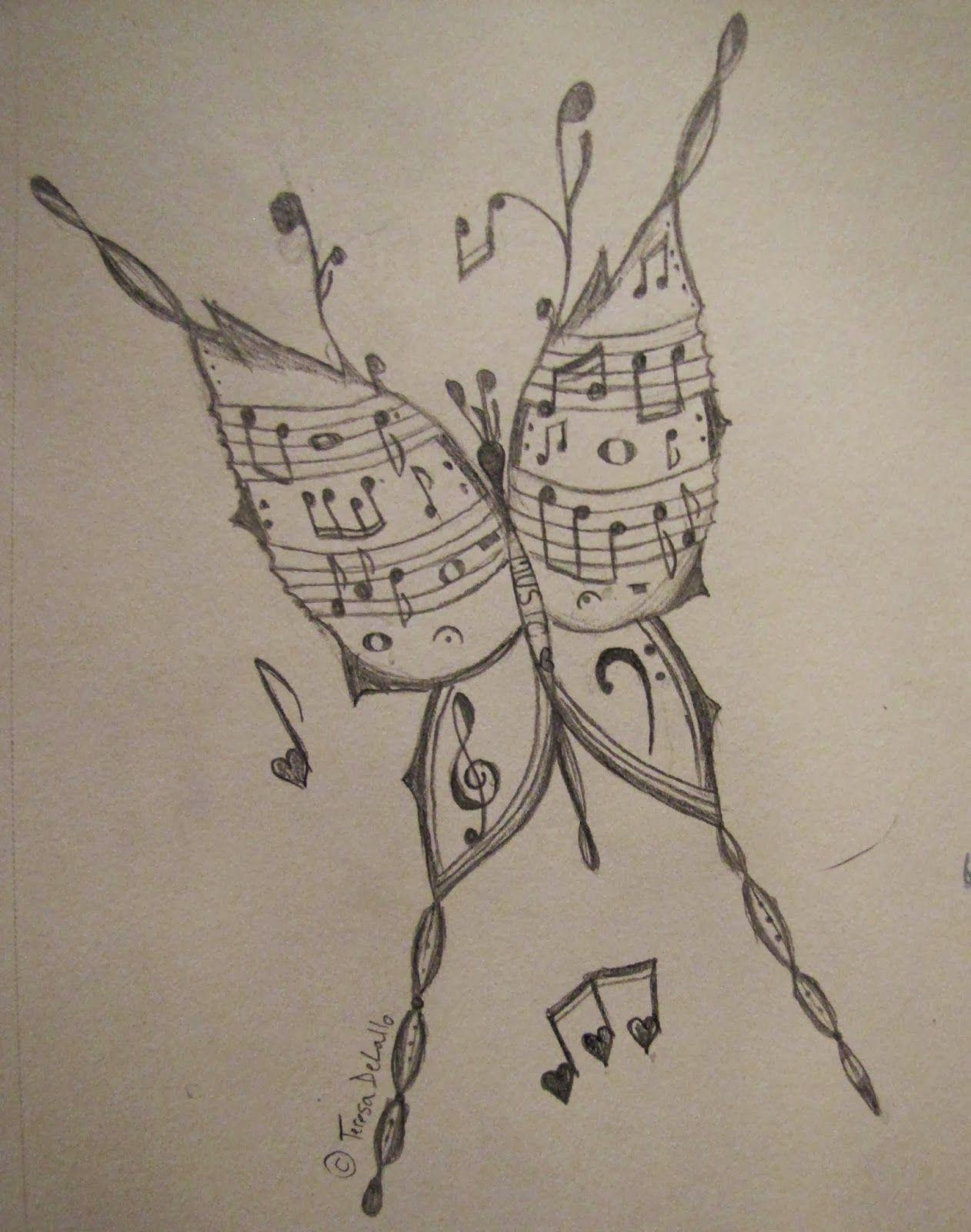 1262x1600 Musical Butterfly