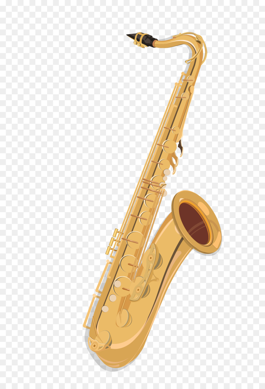 900x1320 Baritone Saxophone Musical Instrument Drawing