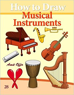 260x336 How To Draw Musical Instruments Drawing Books For Beginners (How